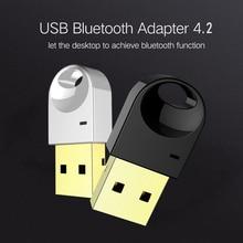 Luxury Wireless USB Bluetooth Adapter For Computer Wireless Headset Bluetooth Speaker 4 2 Free Driver Bluetooth