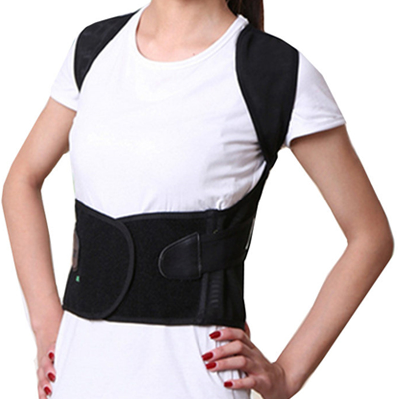 Tcare Unisex Back Shoulder Posture Corrector Support Straighten Brace Belt Orthopedic Adjustable Health Care