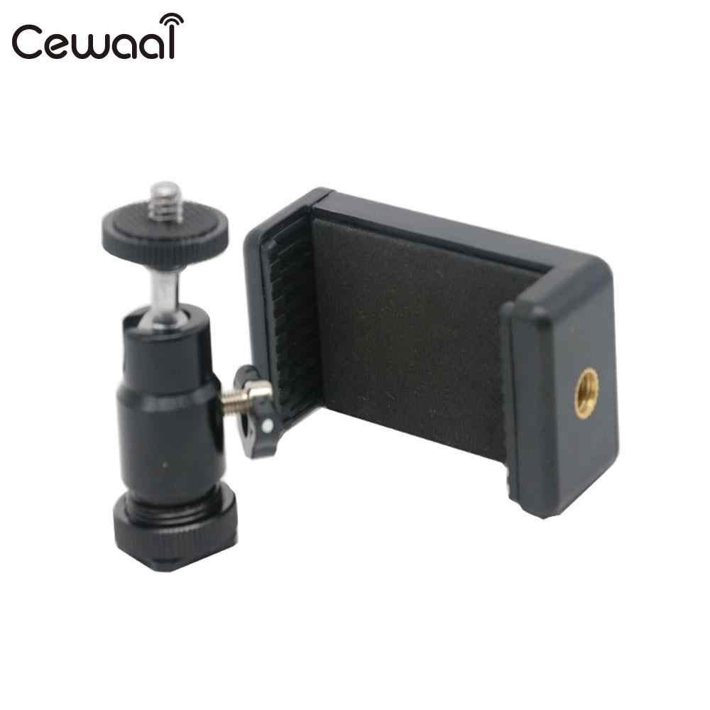 Двойной винт держатель смартфона 1/4 кронштейн 360 градусов для смартфона для HUAWEI прочный