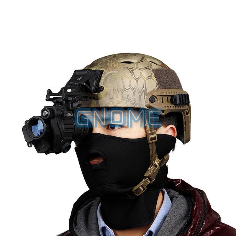 Waterproof 2X 420 Lines Helmet IR Riflescope Sight Infrared LCD Monocular PVS-14 Night Vision Hunter Hunting NVR Scope