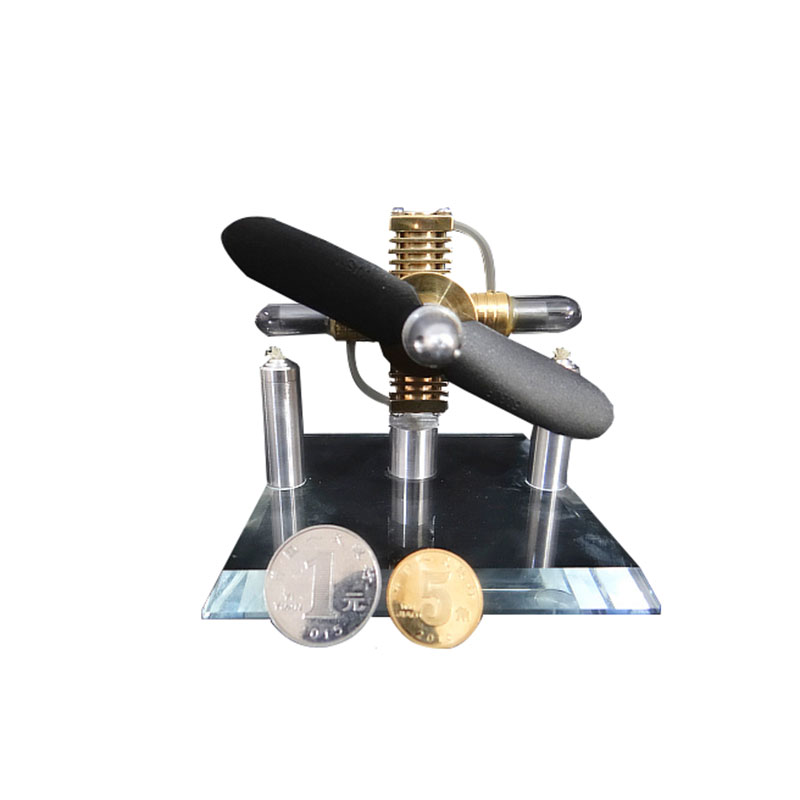 Mini Stirling engine external combustion engine micro generator birthday gift engine steam engine model single cylinder stirling engine micro heat engine steam engine model physical experiment gift model
