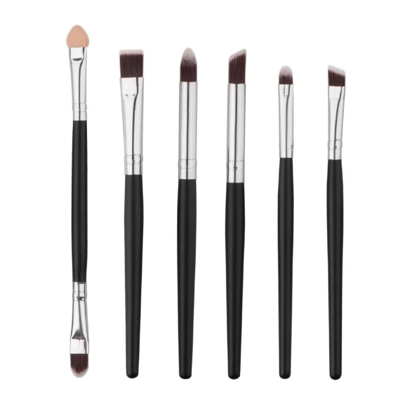 0dc2da7b5d Good Sale Professional 6PCS Cosmetic Makeup Brush Lip Makeup Brush  Eyeshadow Eyebrow Brush Agu 3