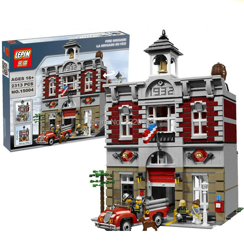 2016 new lepin 15004 creators series the fire brigade for House classics 2016