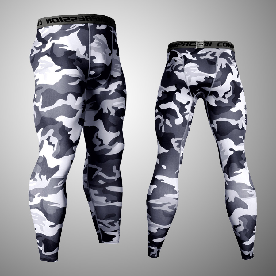 Tactical MMA Compression Tights Leggings  Men's Camouflage Clothing Brand Tracksuit Rash Guard Men Trousers   Shirt 3XL
