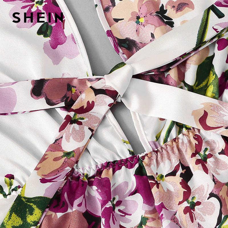 SHEIN, боди с открытой спиной, ресницы, контрастная кружевная отделка, боди, сексуальный, крест-накрест, боди, атласные женские комбинезоны, одежда для сна