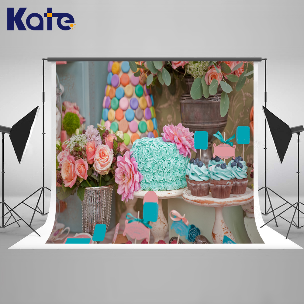 10x10ft Kate Dessert Table Backdrop Sweet Candy Newborn Photography Background Fairy Tale Photo For photocall Baby kate photo background newborn birthday photography background lollipop and cake table backdrop for children photo shoot