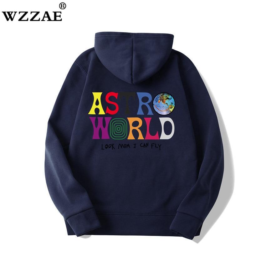 Fashion Letter ASTROWORLD HOODIE street wear Man woman Pullover Sweatshirt 28