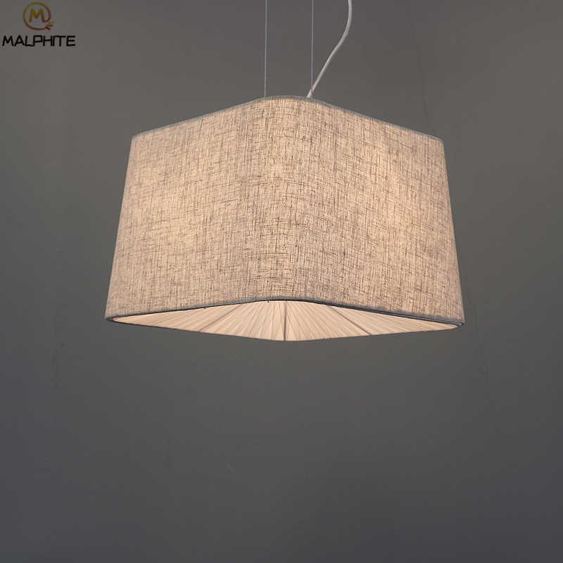 Современный блеск веревки светодиодный подвесные светильники Спальня ретро белье светильник подвесной светильник Гостиная промышленных Декор светильники