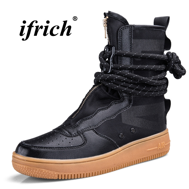 Mens Fashion Boots Different Colors Casual Footwear For Youth Size 39-46 Men Original Casual Boots 2018 New Trend Flats BootsMens Fashion Boots Different Colors Casual Footwear For Youth Size 39-46 Men Original Casual Boots 2018 New Trend Flats Boots