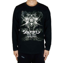 Darkrai 11 designs Demon Soulfly Rock Full long sleeve shirt fitness Cotton Print