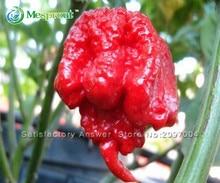 Hot Sale! 100 seeds / pack, Vegetable Pepper Seeds, Carolina Reaper Hot Red Pepper