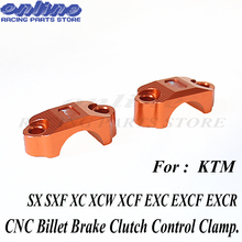 Brake Master Cylinder Clutch Handlebar Bar Clamp Cover holder for KTM SX SXF XC EXC XCF EXCF 250 350 450 125 85 free shipping clutch cover protection cover water pump cover protector for ktm 350 exc f excf 2012 2013 2014 2015 2016
