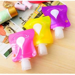 Image 2 - 1pcs Lovely Travel Portable Mini Hand Sanitizer/Shampoo/Makeup Fluid Bottle Bathroom Products Packaging Bottles