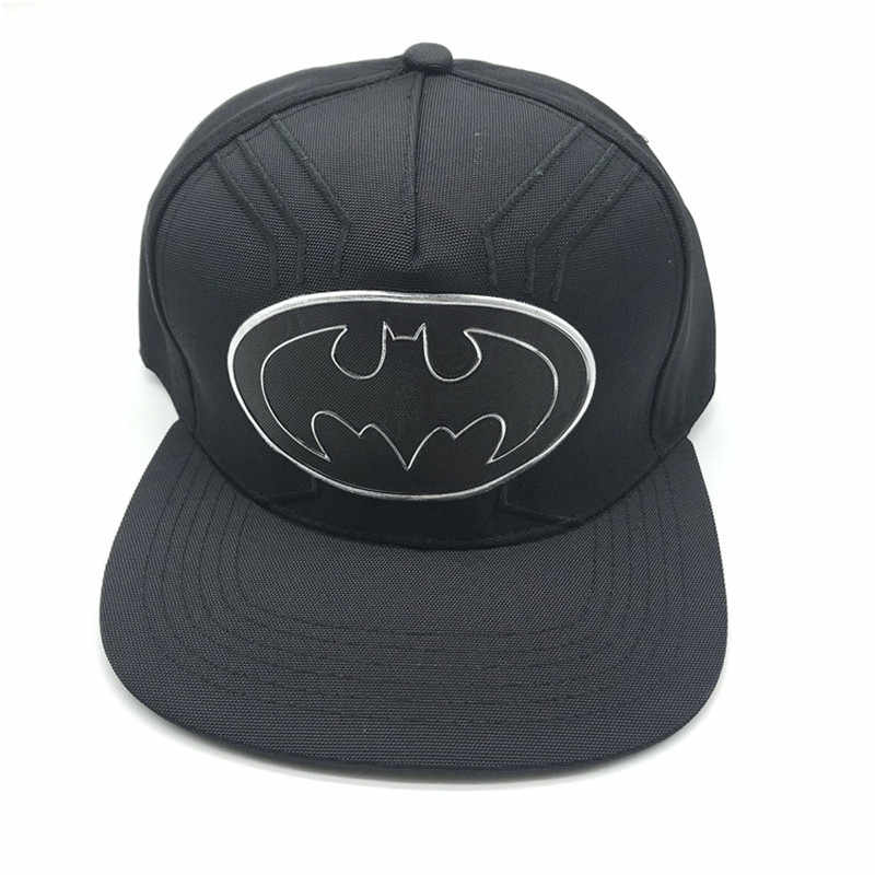 ZSQH Nova Moda hip hop cap cosplay morto DeadpoolS batman homens flash Dragon Ball Wu chapéu boné de beisebol preto