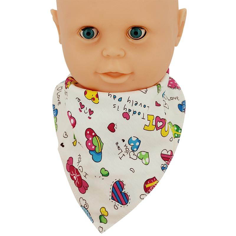 1Pcs Baby Bibs Feeding Stuff Boy Cute Triangle Toddler Accessories For Newborns Clean Safe Saliva Towel