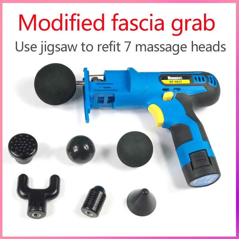 Nouveauté suboton thérapie électronique Massage corporel pour pistolet haute fréquence Massage vibrant pour pistolet corps relaxant pour pistolet