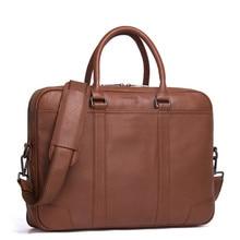 100% Genuine Luxury Leather Briefcase Men Bag Business Handbag Male Laptop Shoulder Bags Tote Natural Skin Men Briefcase цены