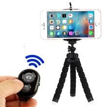 Selfie 스틱 삼각대 전화 미니 블루투스 셔터 출시 스마트 원격 제어 monopod 삼각대 전화 원격