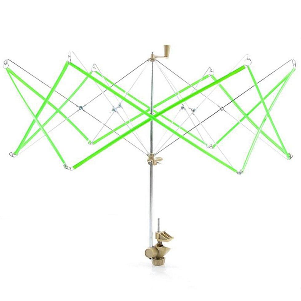 d7c2759664 Regenschirm Metall Swift Garn Gewinde Wickler Betrieben Stricken Handwerk  Werkzeuge Wolle String Ball Wickler Halter Maschine Hank Garn Swift