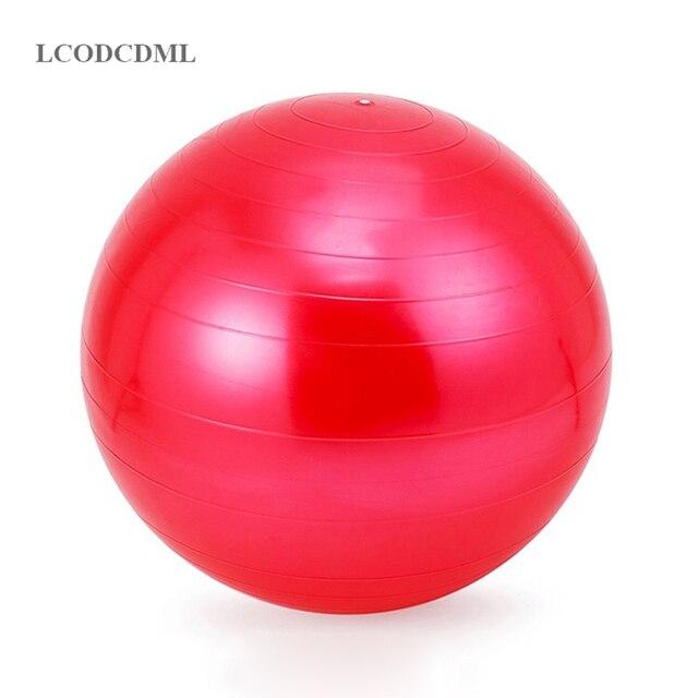 Fitball pelota de yoga de estabilidad bolas pilates espesamiento mujer  reducir peso fitness niño ejercicio gimnasio da8dda57b205