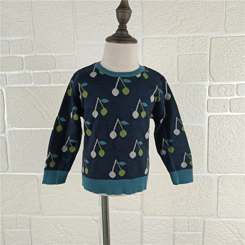 BOBOZONE cherries Sweater gray blue for kids boys girls autumn winter sweater все цены