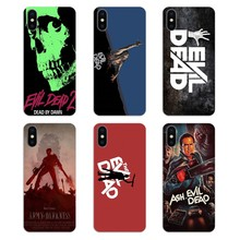 Evil Dead logo zombies Resident Evi Transparent Soft Cases Cover For iPod Touch iPhone 4 4S 5 5S 5C SE 6 6S 7 8 X XR XS Plus MAX(China)