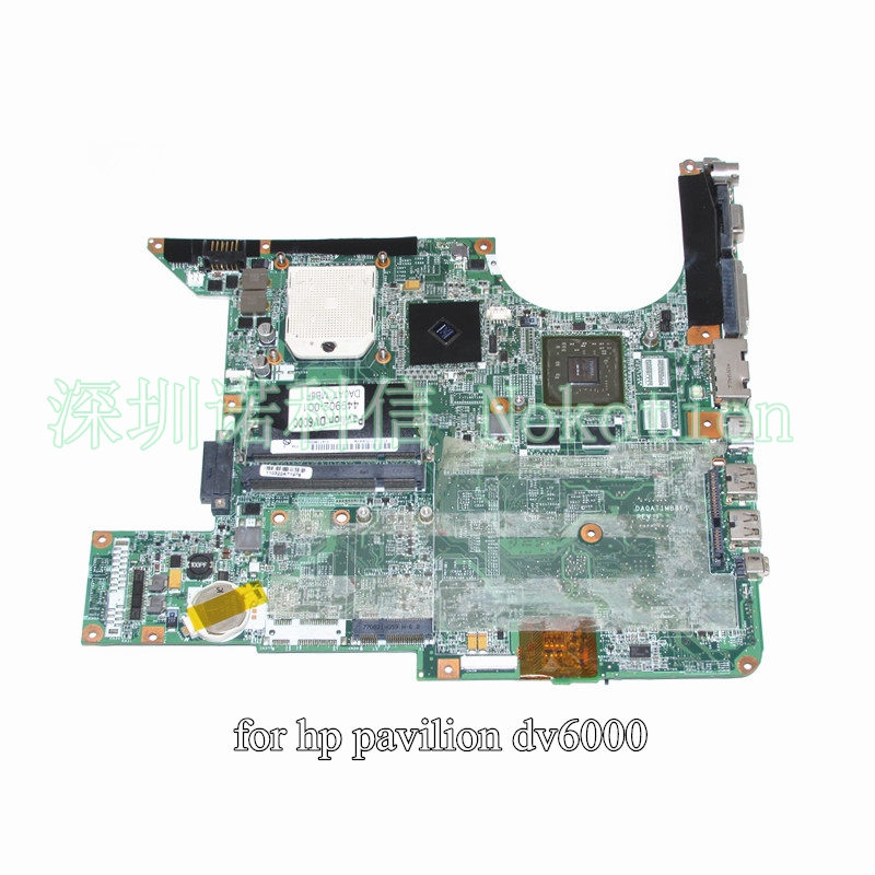 ФОТО 449902-001 Main Board For Hp DV6000 DV6500 DV6600 Laptop Motherboard Socket s1 DDR2 GeForce 8400M with Free CPU DA0AT1MB8F1