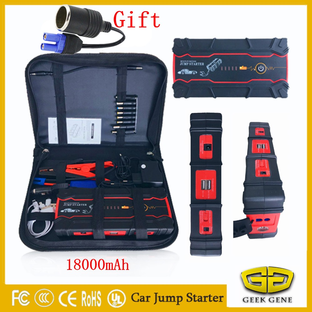 Portable Mini Multifunction Vehicle Emergency Start Battery Charger Engine Booster Power Bank Car Jump Starter 12V Battery Pack newest 50800mah 12v car emergency start power bank vehicle jump starter booster portable current battery charger three light hot