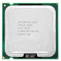 Intel Xeon X3220 2,4 ГГц LGA 775 8 МБ L2 Кэш quad-CORE 105 Wworking 100% бесплатная доставка