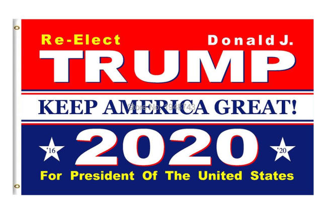 9db930cd042 Trump 2020 Donald Trump Flag Keep America Great Donald For President USA  MAGA Make america great