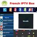 ESUN Mbox-Fogo Android Caixa De TV 1 Ano Grátis 900 + Canais de IPTV Arabic IPTV Francês Bélgica QHDTV/LiveTV Leadtv Neotv 10000 + Livre