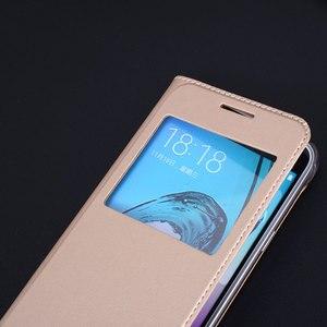 Image 4 - Flip Housse En Cuir Pour Samsung Galaxy J3 2016 GalaxyJ3 J 3 SM J320F J320FN J320H J302M SM J320F SM J320FN SM J320H