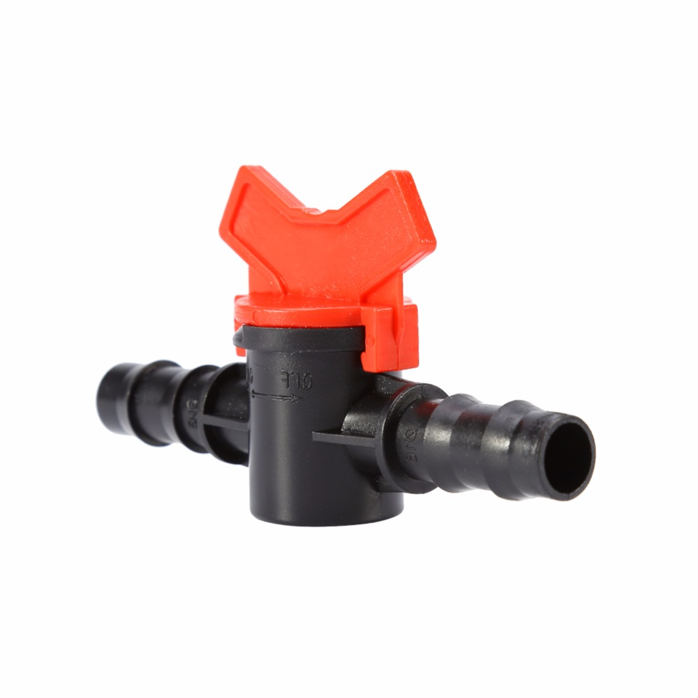 16mm water hose switch equal coupling pipe valve home garden drip