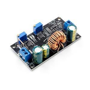 Image 3 - 4,8 30V Solar Ladegerät Lade Controller DC DC Spannung Einstellbar Schritt Up und Unten Automatische Boost/buck Converter Power Module