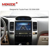 MEKEDE HD 2din 9 inch Android 8.1 Car DVD Player for Toyota Prado 120 car Multimedia Player Car Radio GPS Navigation BT map