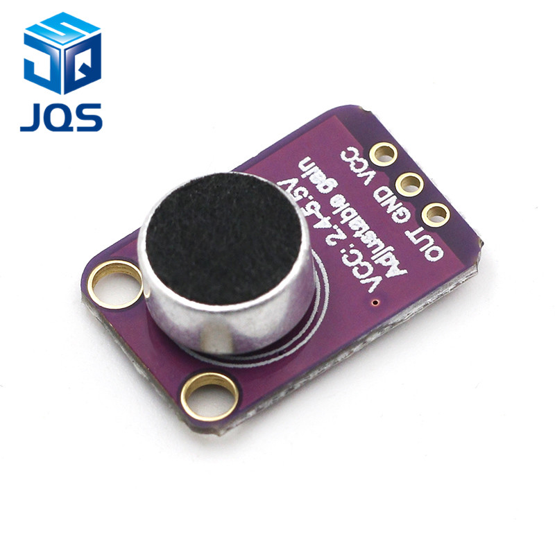 GY-MAX4466 Electret Microphone Amplifier Module MAX4466 Adjustable Gain For Arduino