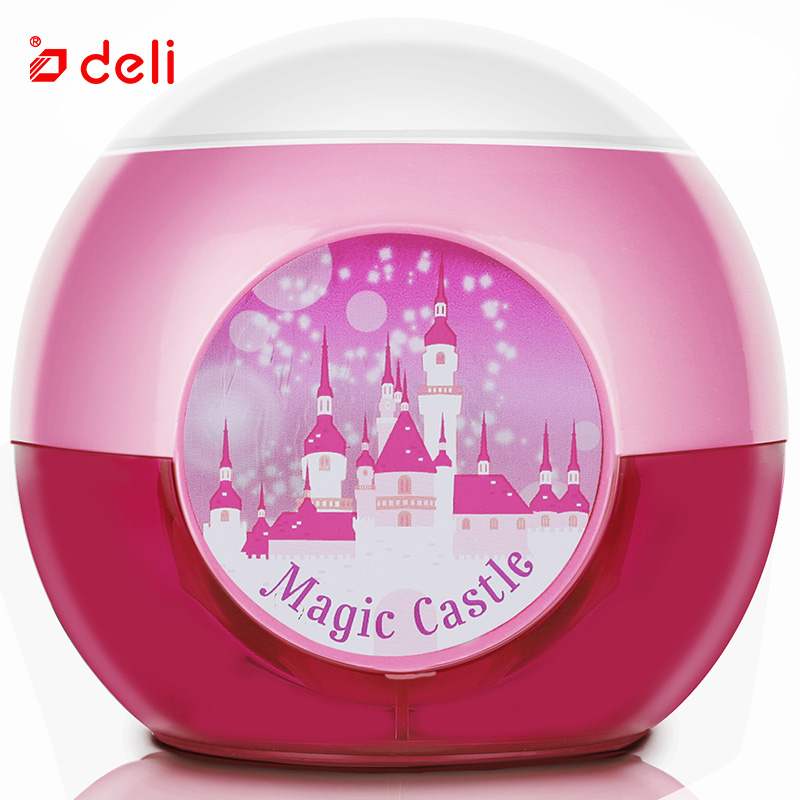 Deli Cute stationery electric pencil sharpener for school supplies office pencil sharpeners knife automatic for student kid gift