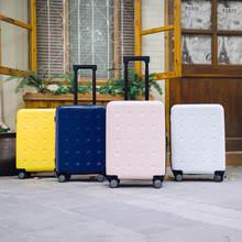 цена на Xiaomi 90FUN 20/24inch Travel Luggage 36.5/66L TSA Lock Aluminum Alloy Durable Large Capacity Wheel Suitcase Carry On Suitcase