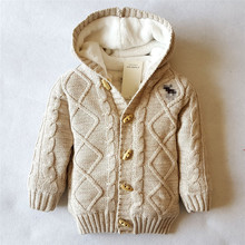 Baby Winter Hooded Sweater