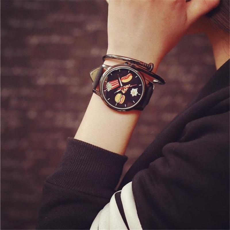 Fashion Clock Watch Stainless Steel Man Men Mens Watch Lover's Watches Women Ladies Quartz Analog Wrist Watch Relojes Mujer