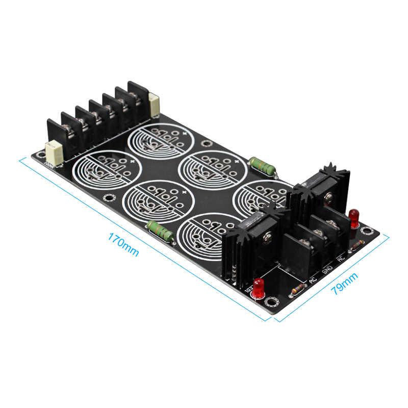 AIYIMA 120A filtr prostownika płyta zasilająca lutowane Schottky 35MM 6 pojemności wzmacniacz rektyfikacyjny DIY