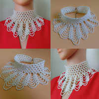Hochzeit Bolero luxus high neck perlen weiß halskette für hochzeit zubehör für abendgesellschaft kleider hochzeit