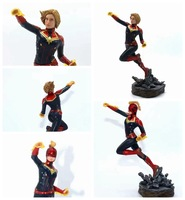 Movie Captain Marvel Avengers Endgame Cartoon Toy Action Figure Model Doll Gift