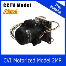 Motor Camera CVI 1080P 2.8-12mm Zoom & Auto Focal Lens PTZ 2MP module board