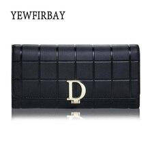 2017 New fashion Women Wallets female cards holders  split leather wallet  coin purses girl Long Wallet lady wallets