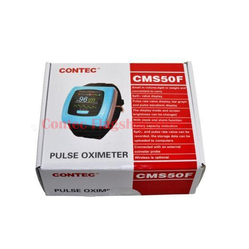 17 newContec Wrist pulse oximeter Fingertip OLED Display SpO2 Probe+ Bluetooth+ Software,CMS50F Blood Pressure Monitor Oximeters daily carry wearable wrist pulse oximeter fingertip oled display with usb cable pc software healthcare monitor cms50f