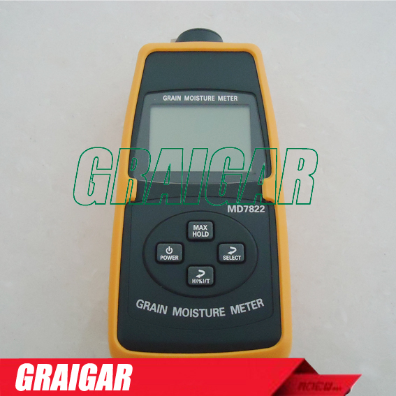 New Grain Moisture Temperature Meter Tester MD7822(needle length 365mm) free shipping mc 7806 wholesale retail moisture meter pin type moisture tester