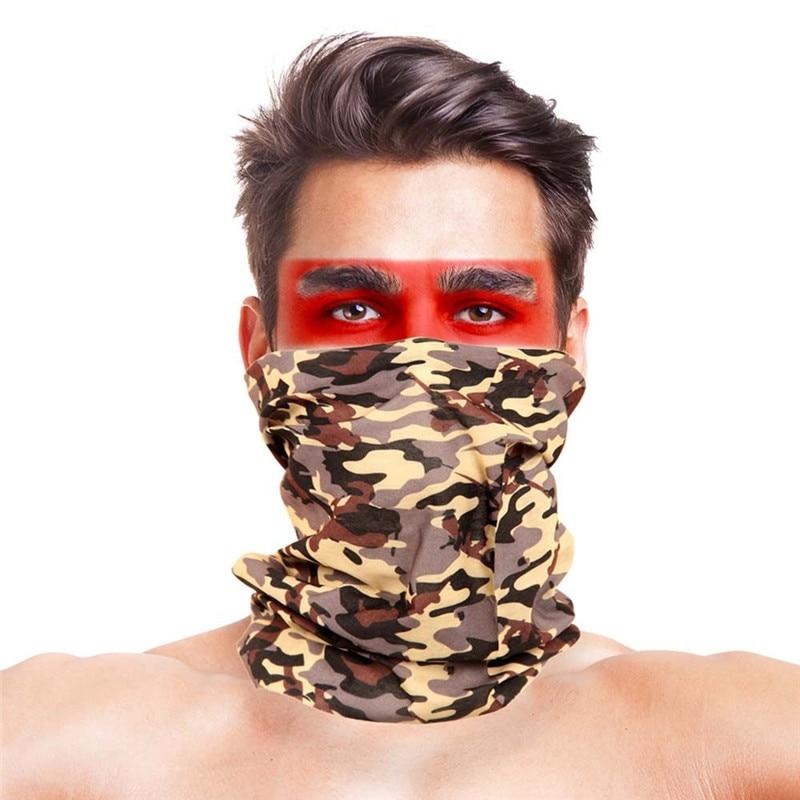 3D листья носовые платки с принтами Для женщин шарф полиэстер микрофибра шеи маска для лица бандана Для мужчин повязка-труба платок - Цвет: 039