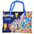 1x Anime Pokemon Pikachu Oxford Shoulder Tote Book Bag Handbag Printed Messenger Bag Cosplay Gift
