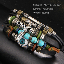 Punk Design Turkish Eye Bracelets